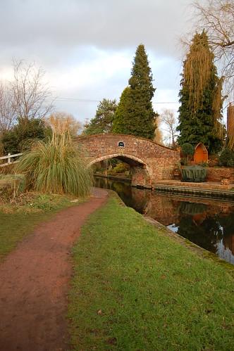 5th January: canal bridge