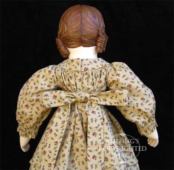 Emily, Original one-of-a-king Folk Art Doll by Elizabeth Ruffing