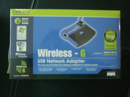 linksys wireless adapter