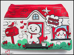 Artbox! Gingerbread Pouch (Hailey Kitten) Tags: cute cookie gingerbread canvas purse kawaii accessories artbox gingerbreadpouch artboxgingerbreadpouch