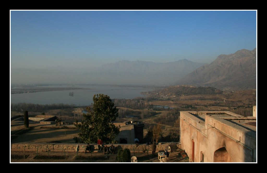 Dal lake view from fort