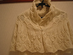 LACE AND CABLE CAPLET
