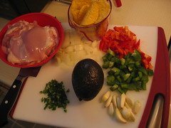 Ingredients for a yummy dish