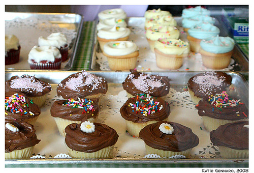 Cupcakes at Magnolia