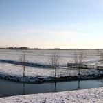 Beemster: Westdijk landscapein winter
