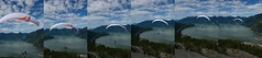 Fly Off (Stemalot) Tags: mountain flying gradient howesound paragliding takeoff squamish
