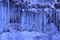 Big Icicles area of Shirakawa (Masakazu.S) Tags: winter cold ice japan eos is usm nagano icicles ef70200mm kdx f28l