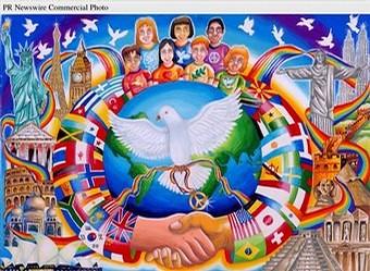 Ming Yang Soong Peace Poster