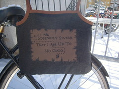 Marauder's Map Bag