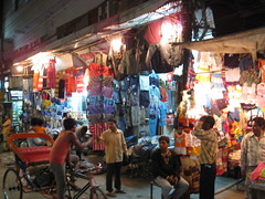 Night Bazar, Backpacker's Ghetto, Delhi