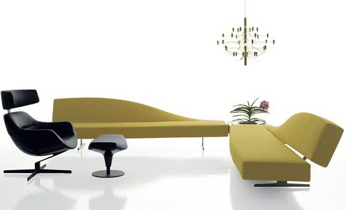 Cassina Aspen - Contemporary Lounge Sofa Design | Home Trends | Decoration | Gardening from momoy.com