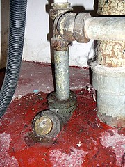 Leaky Drain Pipe