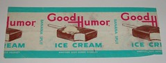Good Humor Bar wrapper