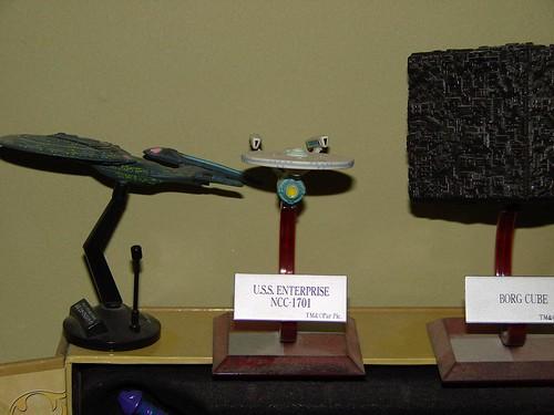 Enterprise A + E, Borg Cube