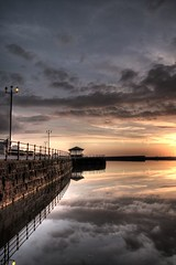 New Brighton sunset (*Richard Cooper *) Tags: sunset brighton hdr wallasey marinelake wirral newbrighton eow nwq