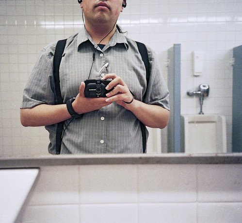 Obligatory Bathroom Self-Portrait