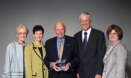 Ward Chamberlain receives NAFSA award