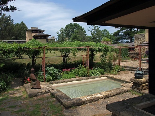 Frank Lloyd Wright's Plunge Pool