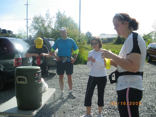 Water stop on a long run
