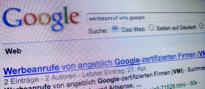 Google Adsense Werbeanruf VMI