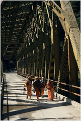 across the ganges, beyond harshil (nevil zaveri) Tags: uk bridge people india trek river photography blog photographer photos walk steel religion stock images holy photographs photograph journey rivers uttaranchal zaveri ganga sadhu ua stockimages ganges travelogue parikrama gangotri nevil bhagirathi peopleandplaces harshil jahanvi chardham uttarkhand theverybestofme nevilzaveri