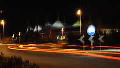 Butlins Traffic Trail (TangyTom) Tags: road light signs cars island nikon roundabout somerset butlins minehead traffictrail d3000 tangytom