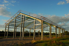 Large Greenhouse Frame Construction