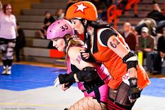 20110507.JCRGchamps_1399 (Axle Adams) Tags: sports rollerderby rollergirls skaters derby skates everett 2011 jcrg jetcityrollergirls