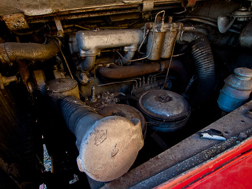 Bristol Bus Engine