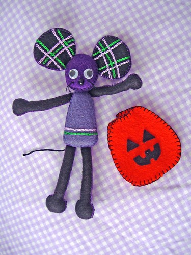 Halloween Felt Mouse and Costume