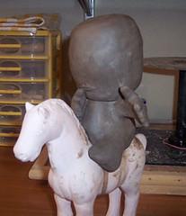 Mapuche a caballo (Juguetera Latinoamericana) Tags: chile clay sculture mapuche arcilla