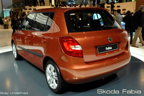 Red Hot Wheels Skoda Fabia Specification And Features