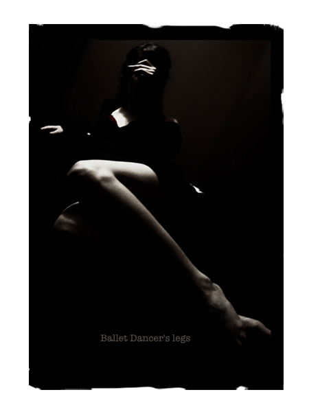 ballet dancer's legs