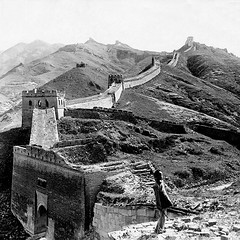 Past and Present/ (Luo Shaoyang) Tags: china people landscape nikon chinese landmark unesco greatwall   badaling  wonders madeinchina thegreatwall maozedong the chineseculture luo  communistparty    anawesomeshot ultimateshot luoshaoyang  seveing