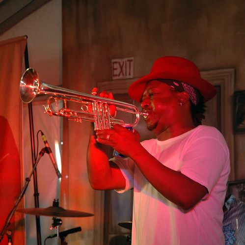 Kermit Ruffins on Trumpet