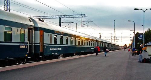 HPIM5152. Yöjuna Rovaniemellä