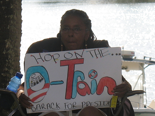 Barbara for Barack!