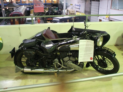 BROUGH SUPERIOR MOTORCYCLE 1939