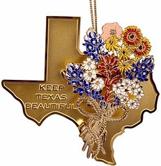 Keep Texas Beautiful - Lady Bird Ornament