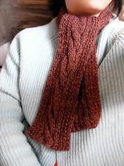 knit。muffler。warm。