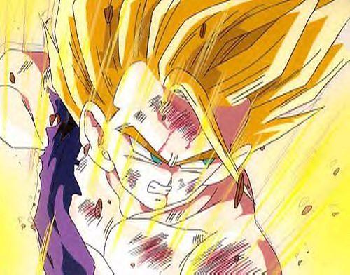 Gohan Super Saiyan 2 Angry