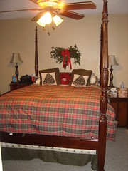 Christmas bed