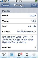 iToggle Update 1.0.5