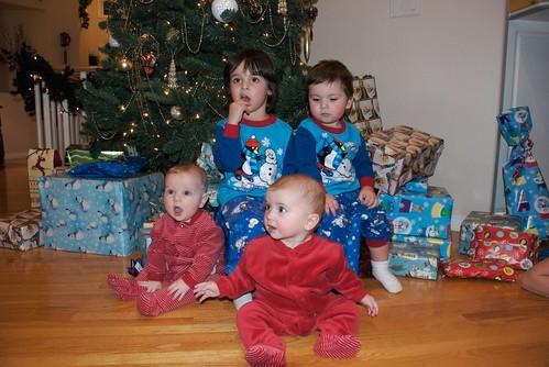 Enns Grandkids Under the Tree