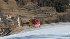 Elicottero / Chopper (Luigi Rosa) Tags: red italy mountain chopper italia rosso montagna lombardia valtellina bormio elicottero