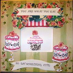 Cupcake challenge for Winter Bella-Zine