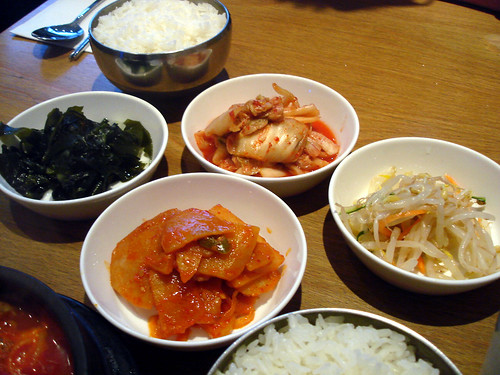 Rice and Banchan