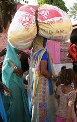 Colours at Jhansi (greenwood100) Tags: travel light people sun sunlight india asia shadows bright vivid rail railway striking hindi bold pradesh uttarpradesh madhya jhansi maydapradesh