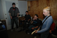 DSC_0029 (rmkooi) Tags: xbox360 alex dave john tara ryan rita jeremy videogames lori patty rockband duc wii wintereenmas