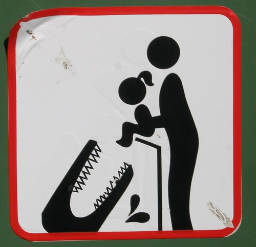Don't feed your daughter to the crocodiles